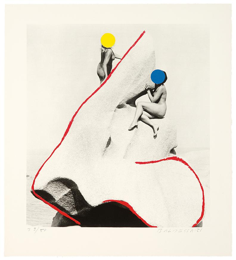 John Baldessari-A Suite Of Five Lithographs From Tristram Shandy-1988