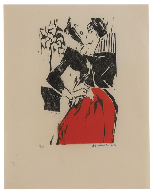 Ed Ruscha-Dorothy Ruscha-1960