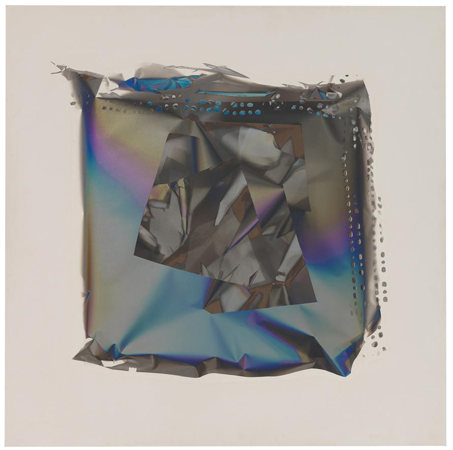 Larry Bell-Mirage Painting #262-1991
