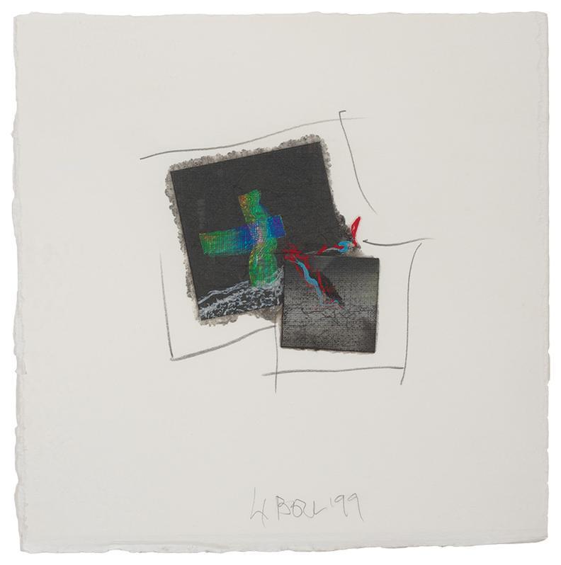 Larry Bell-Fraction #4894-1999