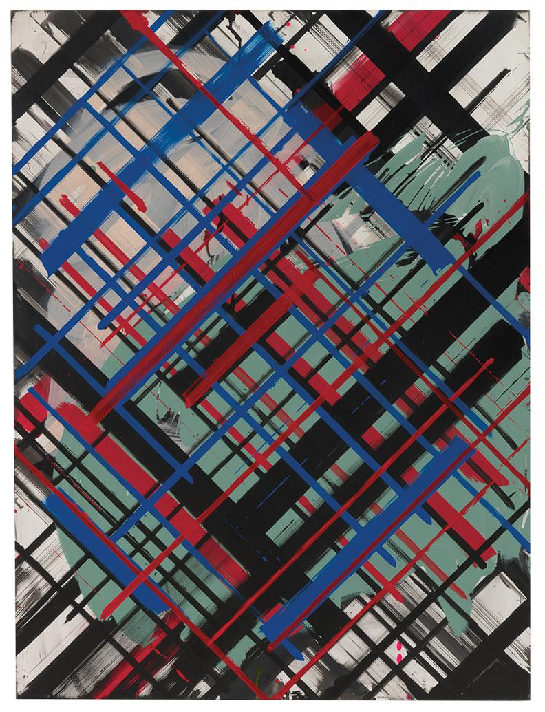 Ed Moses-Fol-Grid #2-1986
