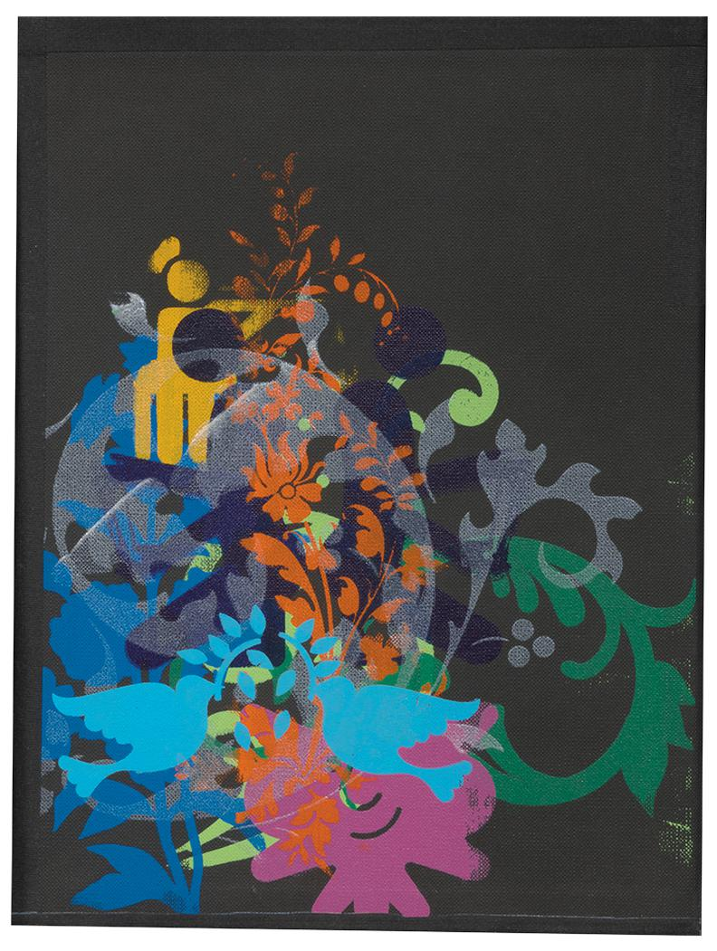 Ryan McGinness-Untitled (Triptych)-2011