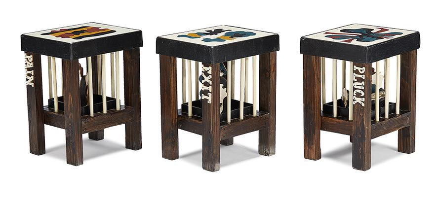 Thorsten Passfeld - Stools (From Play With The Big) (6)-2006