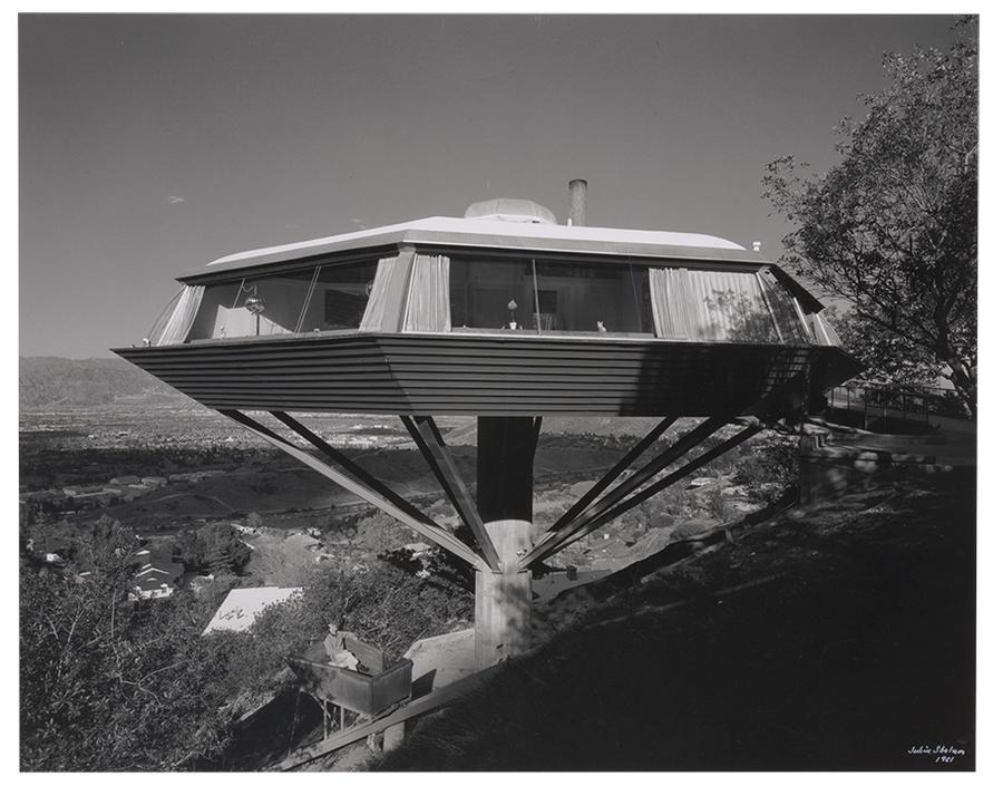 Julius Shulman-John Lautner, Malin Residence (Chemosphere), Hollywood-1961