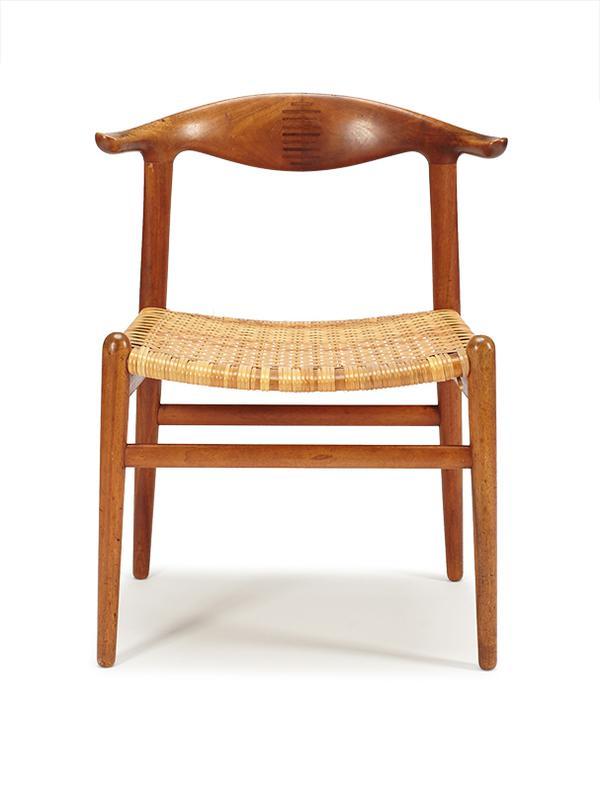 Hans J. Wegner-Cow Horn Chair-1952