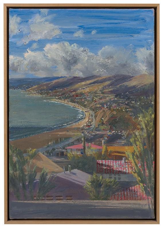 Larry Cohen-View Of The Coast From Via De La Paz, Pacific Palisades-2004