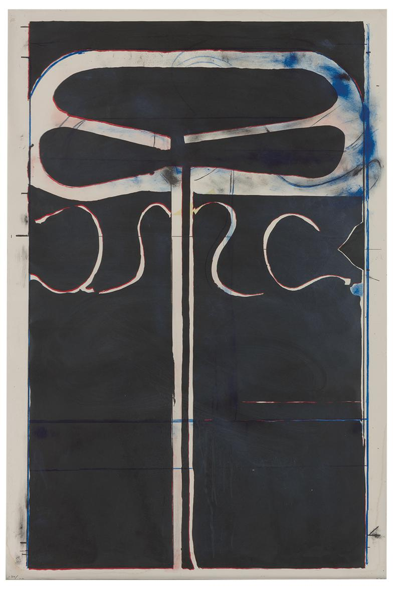 Richard Diebenkorn-Untitled (From Club/Spade Group 81-82) (From Eight By Eight To Celebrate The Temporary Contemporary-1982