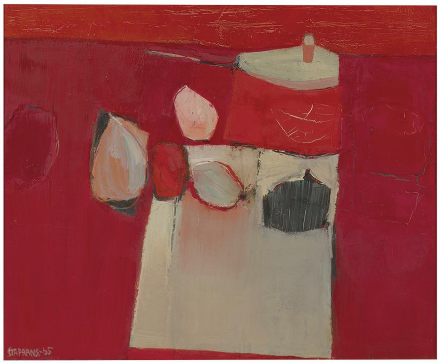 Raimonds Staprans-Red Kitchen-1965