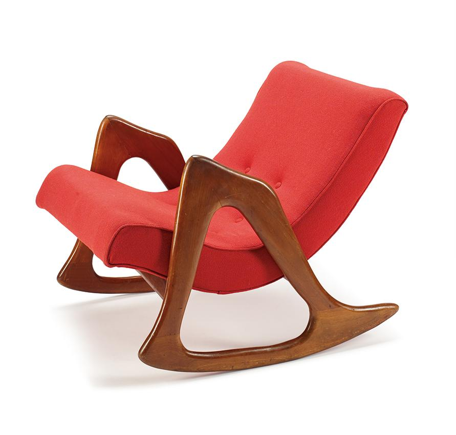 Adrian Pearsall - Rocking Chair-1960