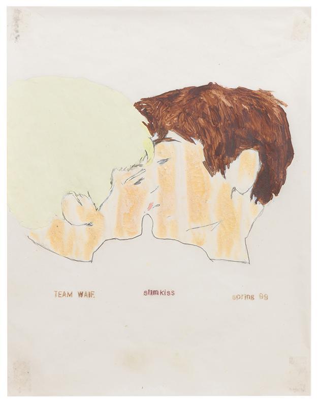 Hernan Bas-Slim Kiss-1999