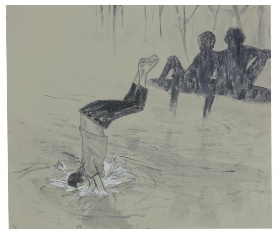 Hernan Bas-Untitled (Late Dip)-2001
