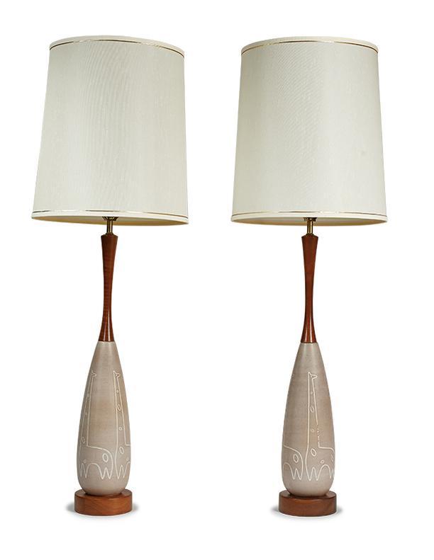 American Modern - Giraffe Lamps (2)-1958