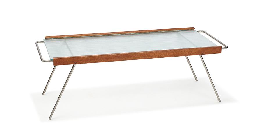 Bill Lam-Adjustable Coffee Table-1950