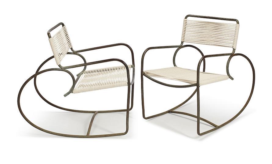Walter Lamb - Rocking Chairs (2)-1950