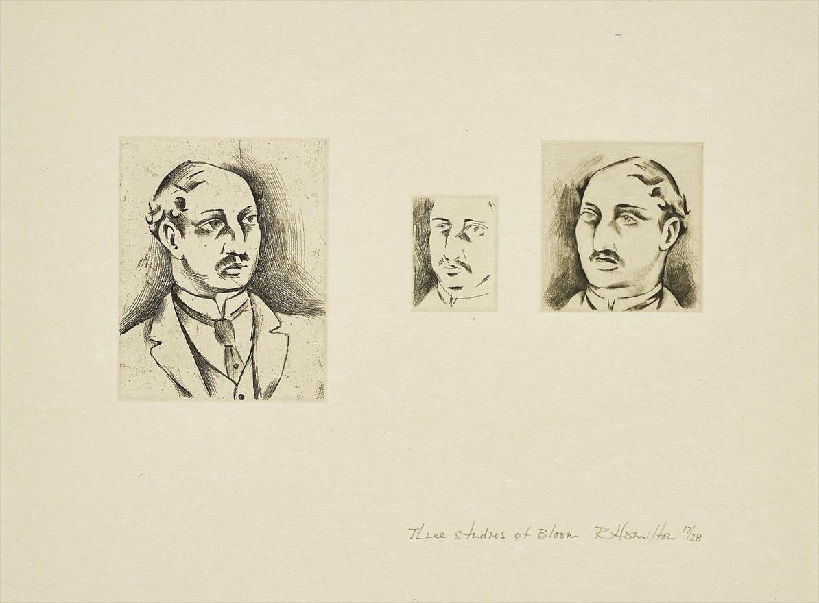 Richard Hamilton-Three Studies Of Bloom-1973