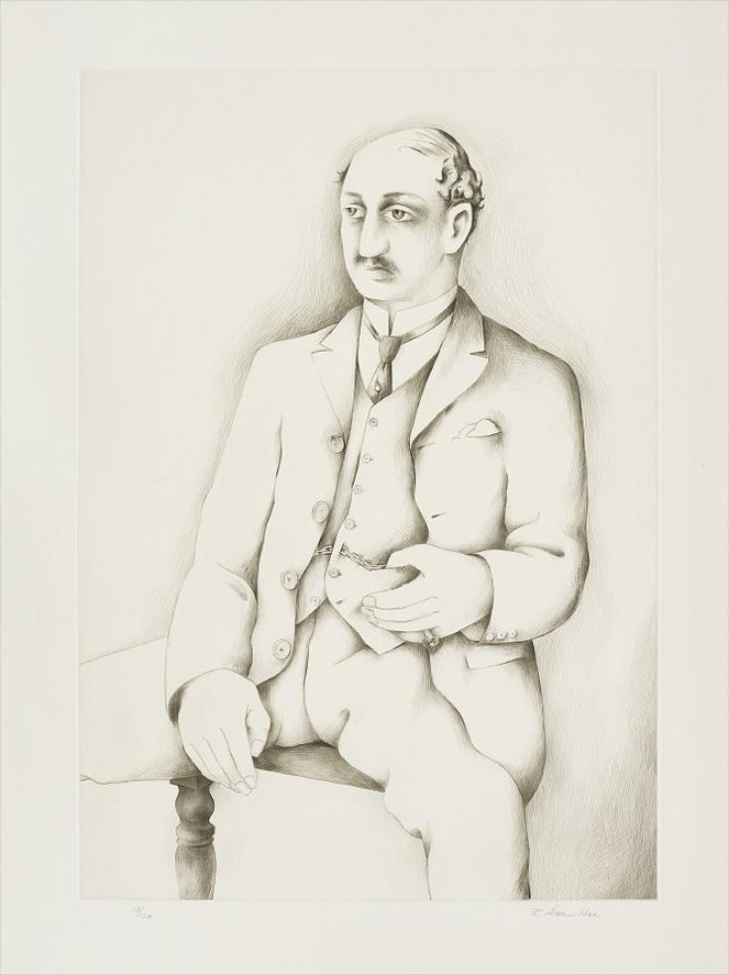 Richard Hamilton-Leopold Bloom-1983