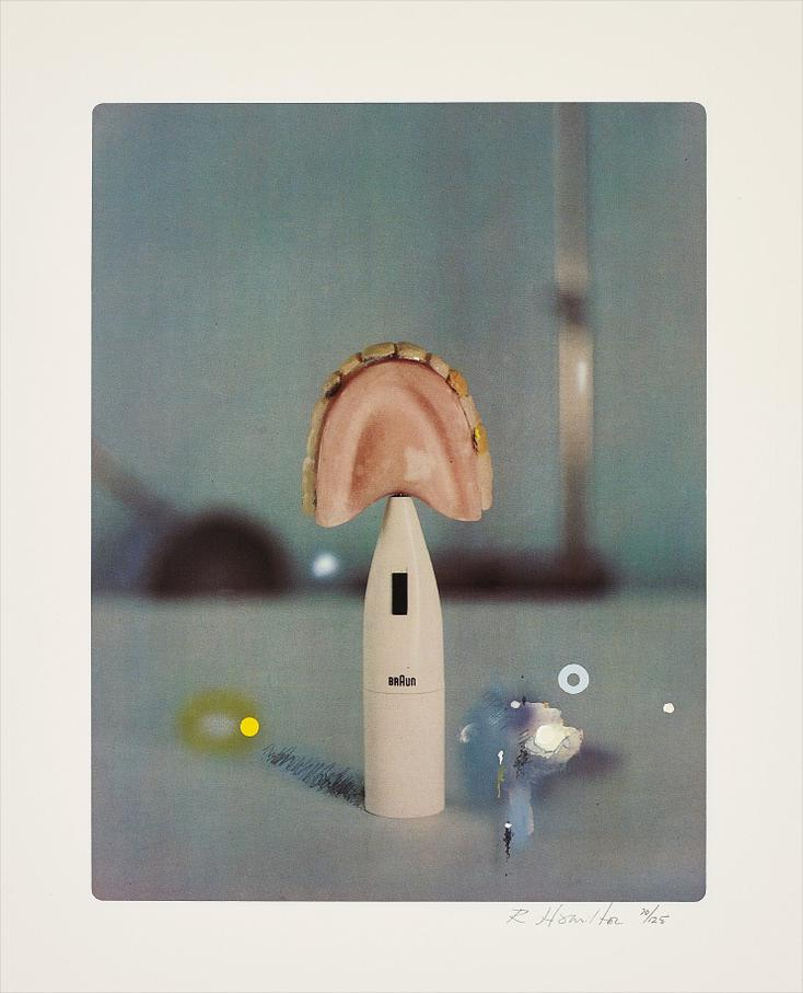 Richard Hamilton-The Critic Laughs-1968