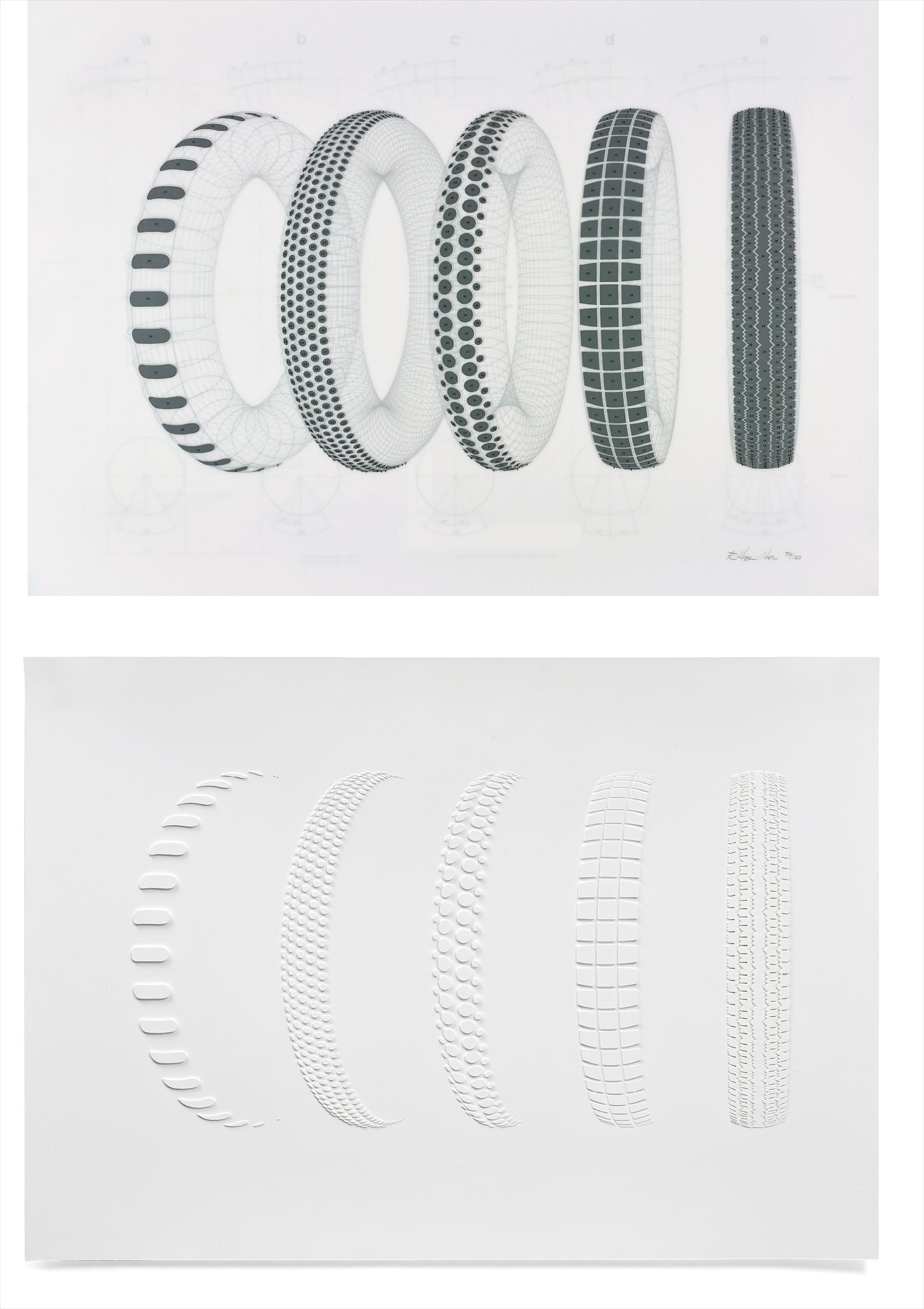 Richard Hamilton-Five Tyres Remoulded-1971