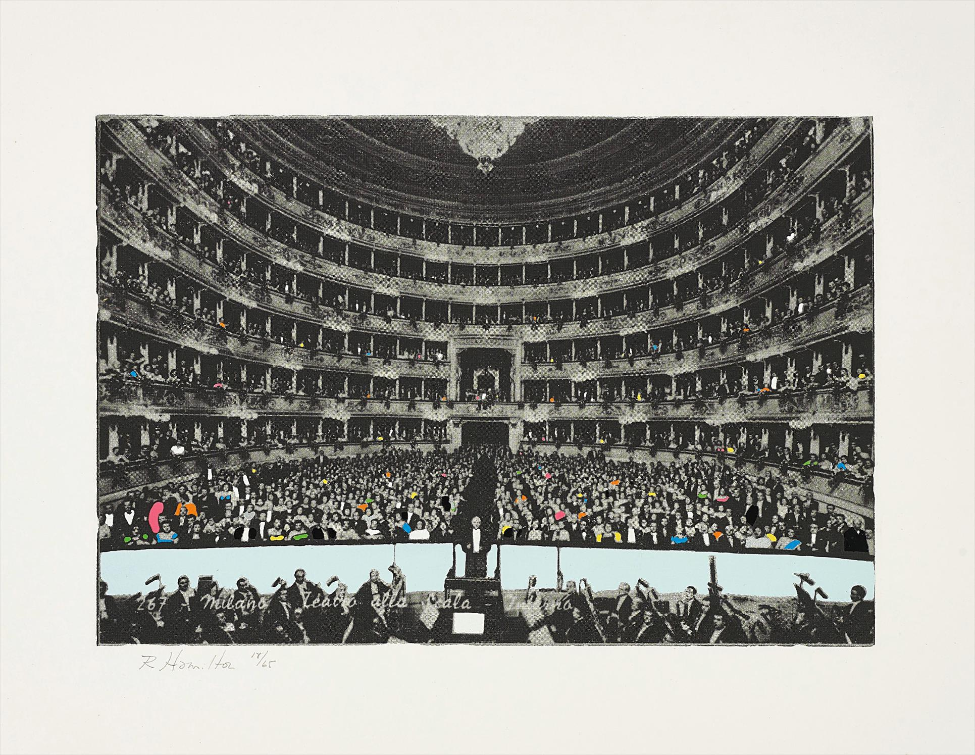 Richard Hamilton-La Scala Milano-1968