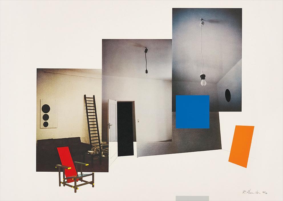 Richard Hamilton-Interior With Monochromes-1979