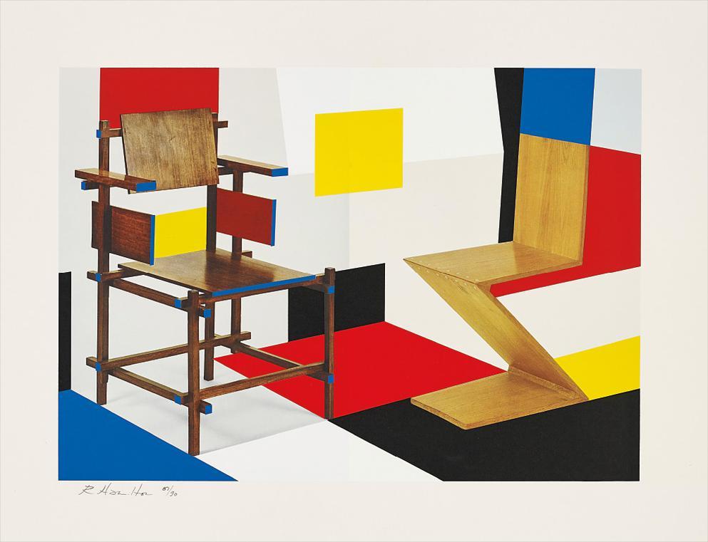 Richard Hamilton-Putting On De Stijl-1979