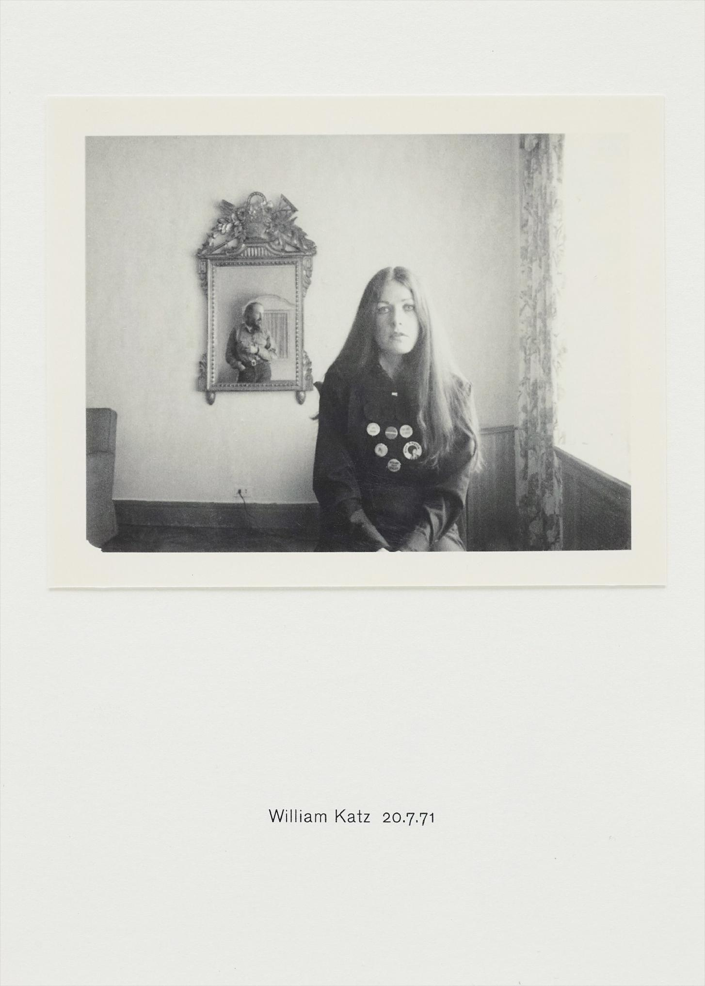 Richard Hamilton-Polaroid Portrait: William Katz 20.7.71-2010