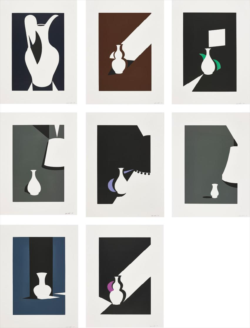Patrick Caulfield-White Ware-1990