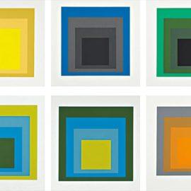 Josef Albers-Formulation Articulation I & II-1972