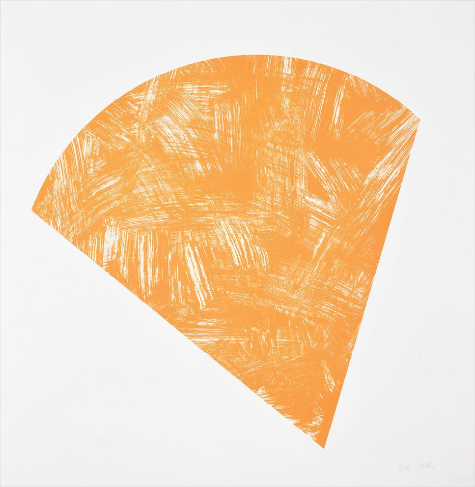 Ellsworth Kelly-Untitled (Orange State I)-1988