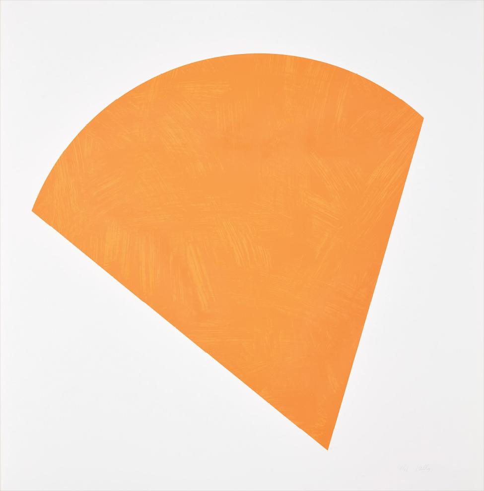 Ellsworth Kelly-Untitled (Orange State II)-1988
