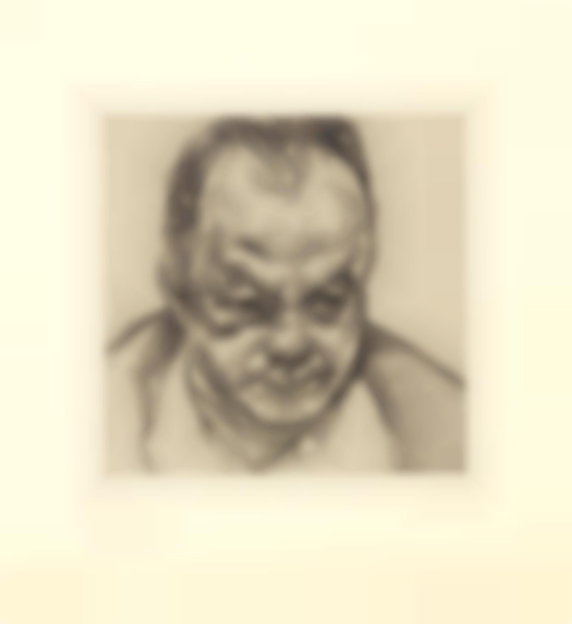 Lucian Freud-Head Of Bruce Bernard-1985
