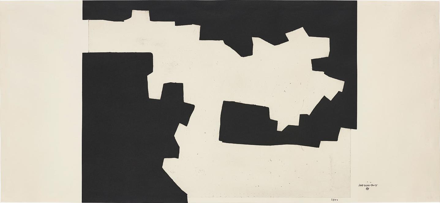 Eduardo Chillida-Hutsune II (Empty II)-1970