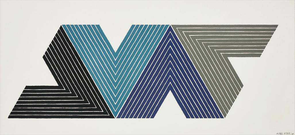 Frank Stella-Empress Of India I, From V Series-1968