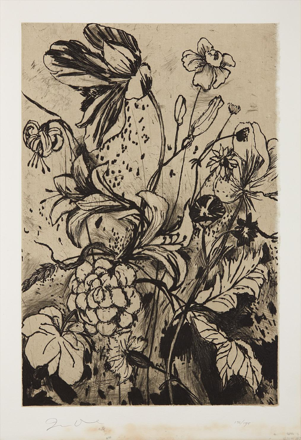 Jim Dine-Details From Nancys Garden, From The Temple Of Flora-1984