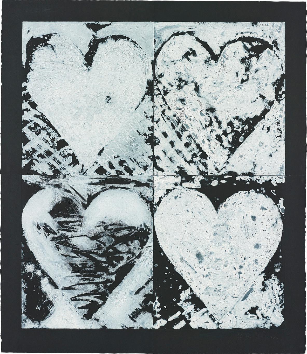 Jim Dine-Winter Windows On Chapel Street-1982