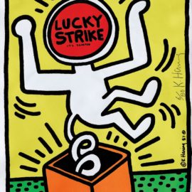 Keith Haring-Lucky Strike-1987