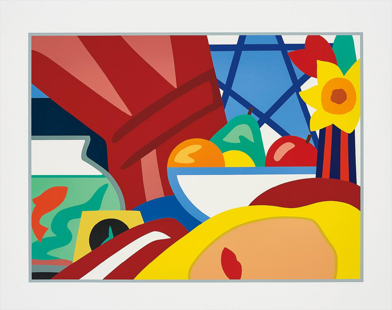 Tom Wesselmann-Still Life With Blonde-1999