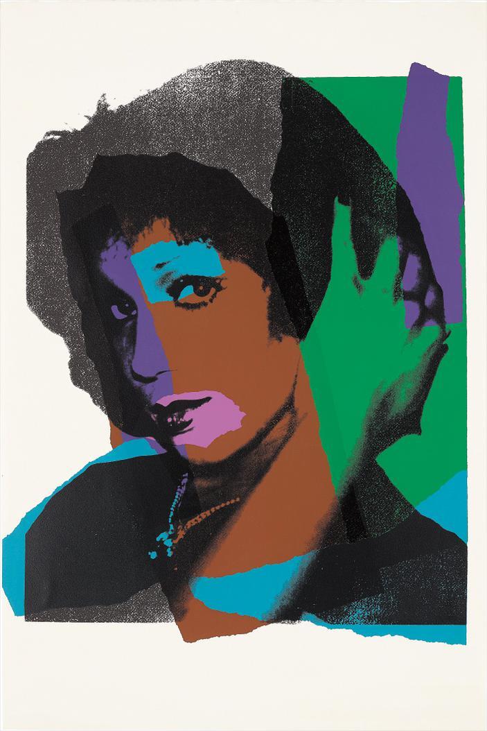 Andy Warhol-Ladies And Gentleman-1975