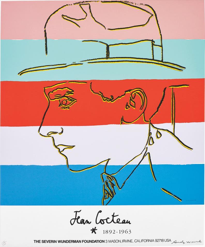 Andy Warhol-Jean Cocteau-1985
