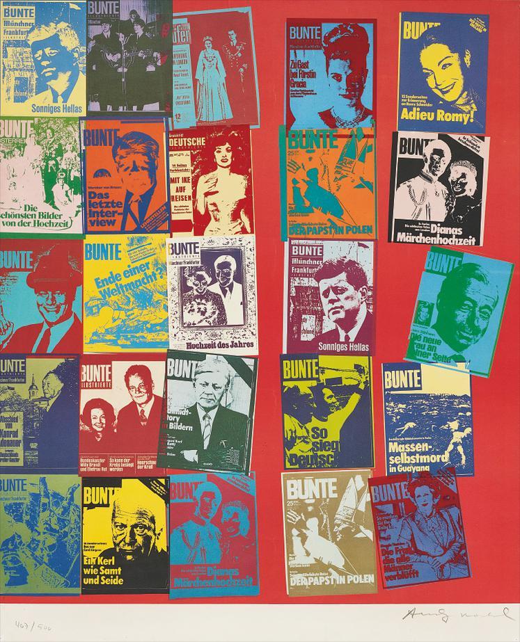 Andy Warhol-Bunte-1984