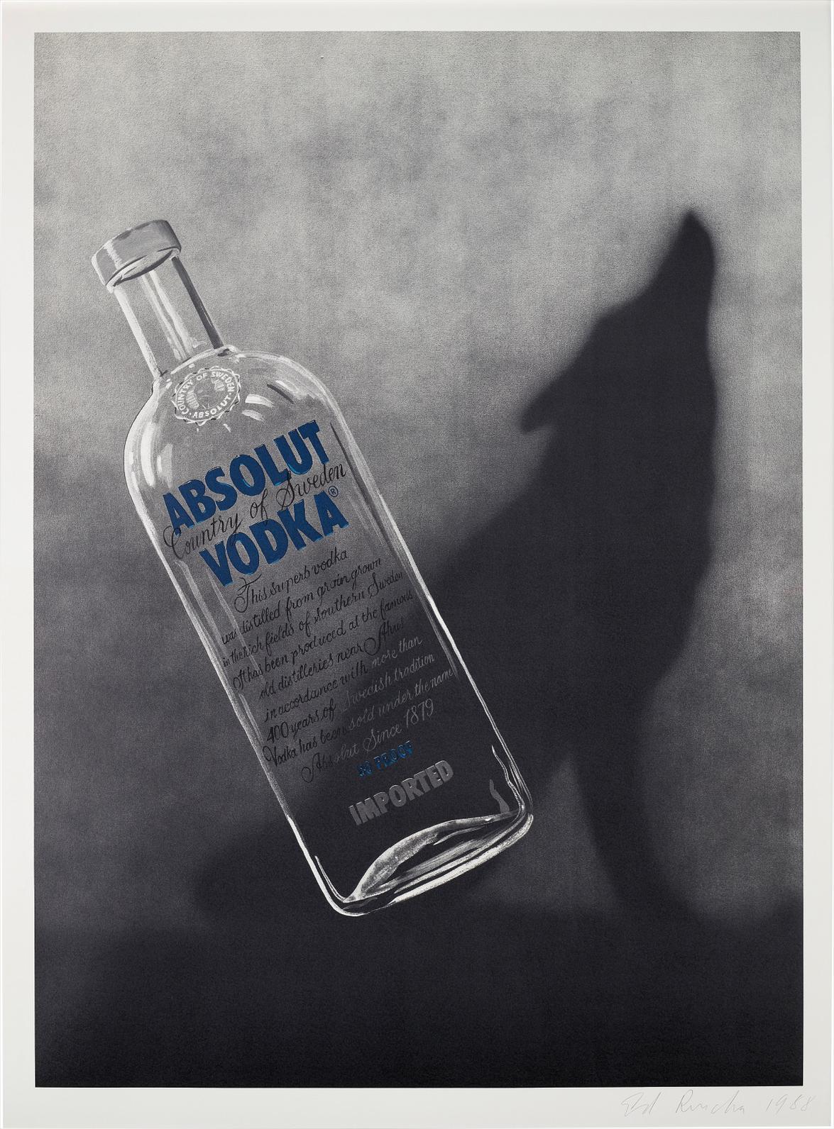 Ed Ruscha-Absolut-1988