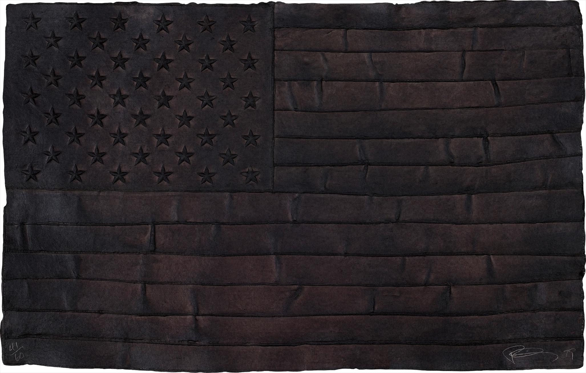 Robert Longo-Black Flag-1999