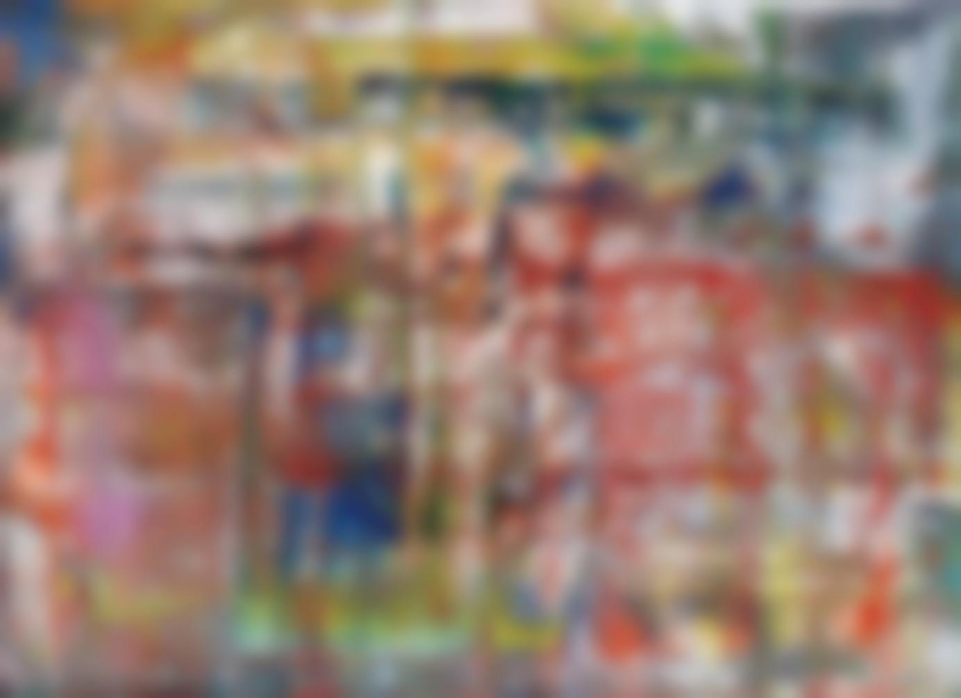 Gerhard Richter-Abstraktes Bild (P1)-2013