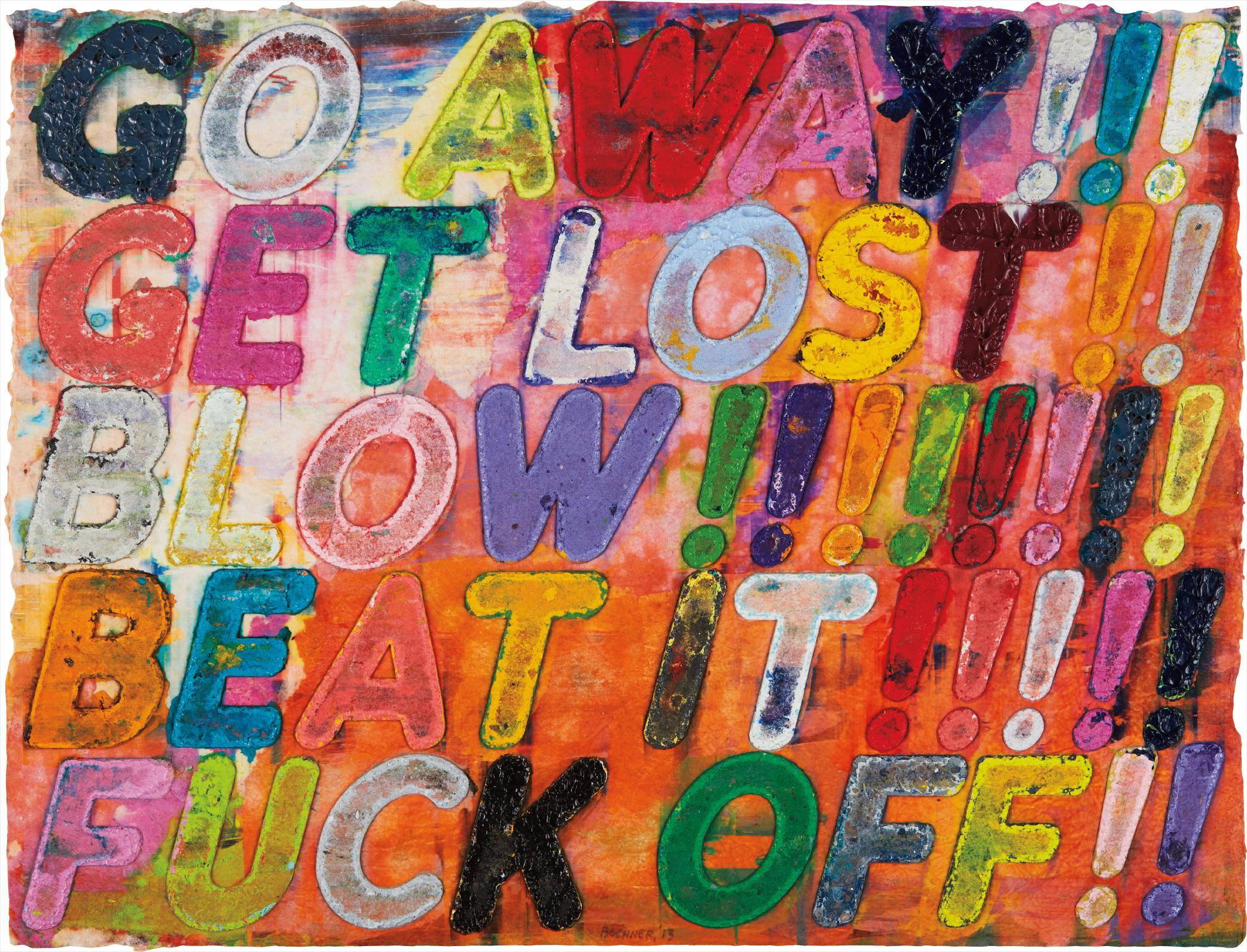 Mel Bochner-Go Away!-2013