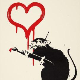 Banksy-Love Rat-2004