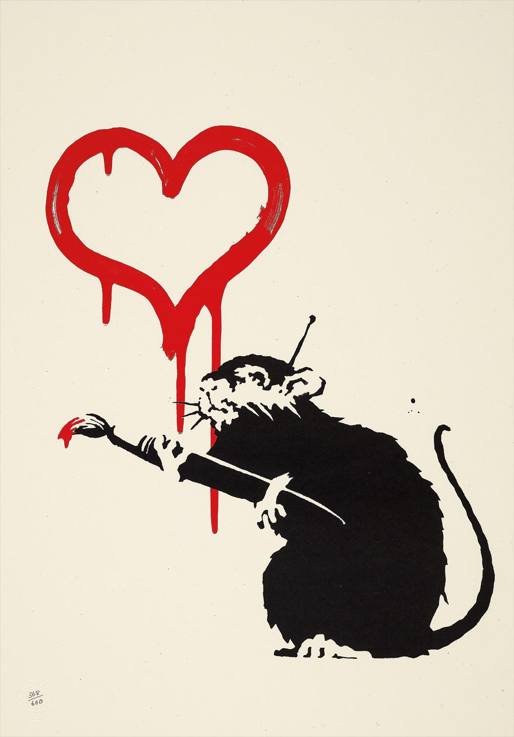 Banksy-Love Rat-2004