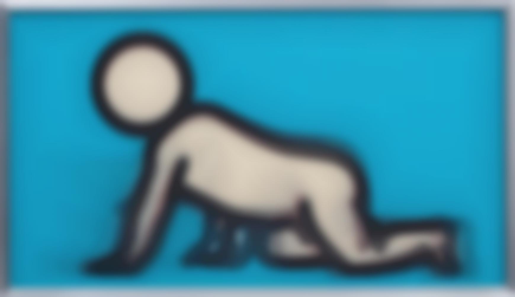 Julian Opie-Dino Crawling-2012