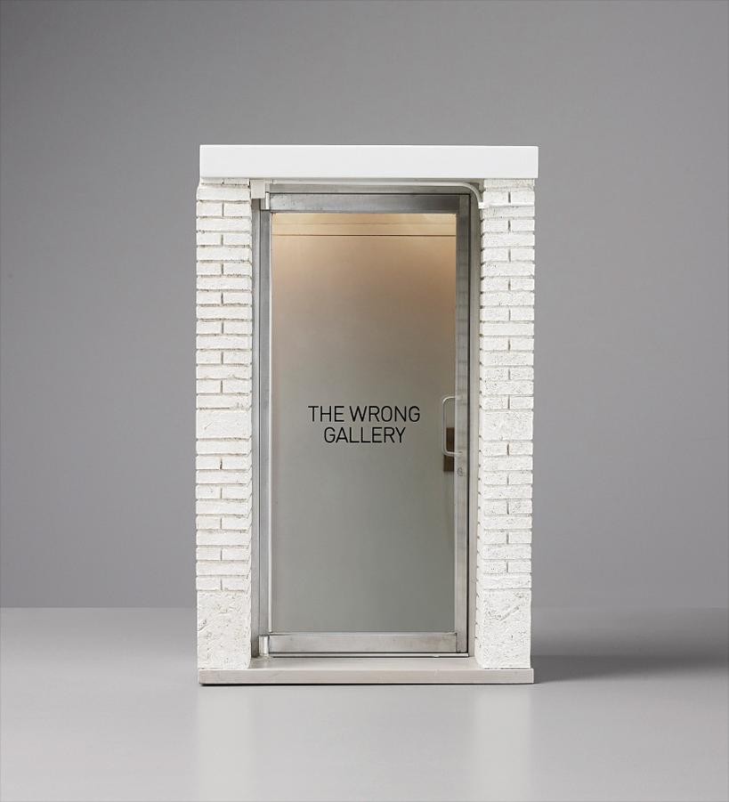 Maurizio Cattelan-The 1:6 Scale Wrong Gallery-2006