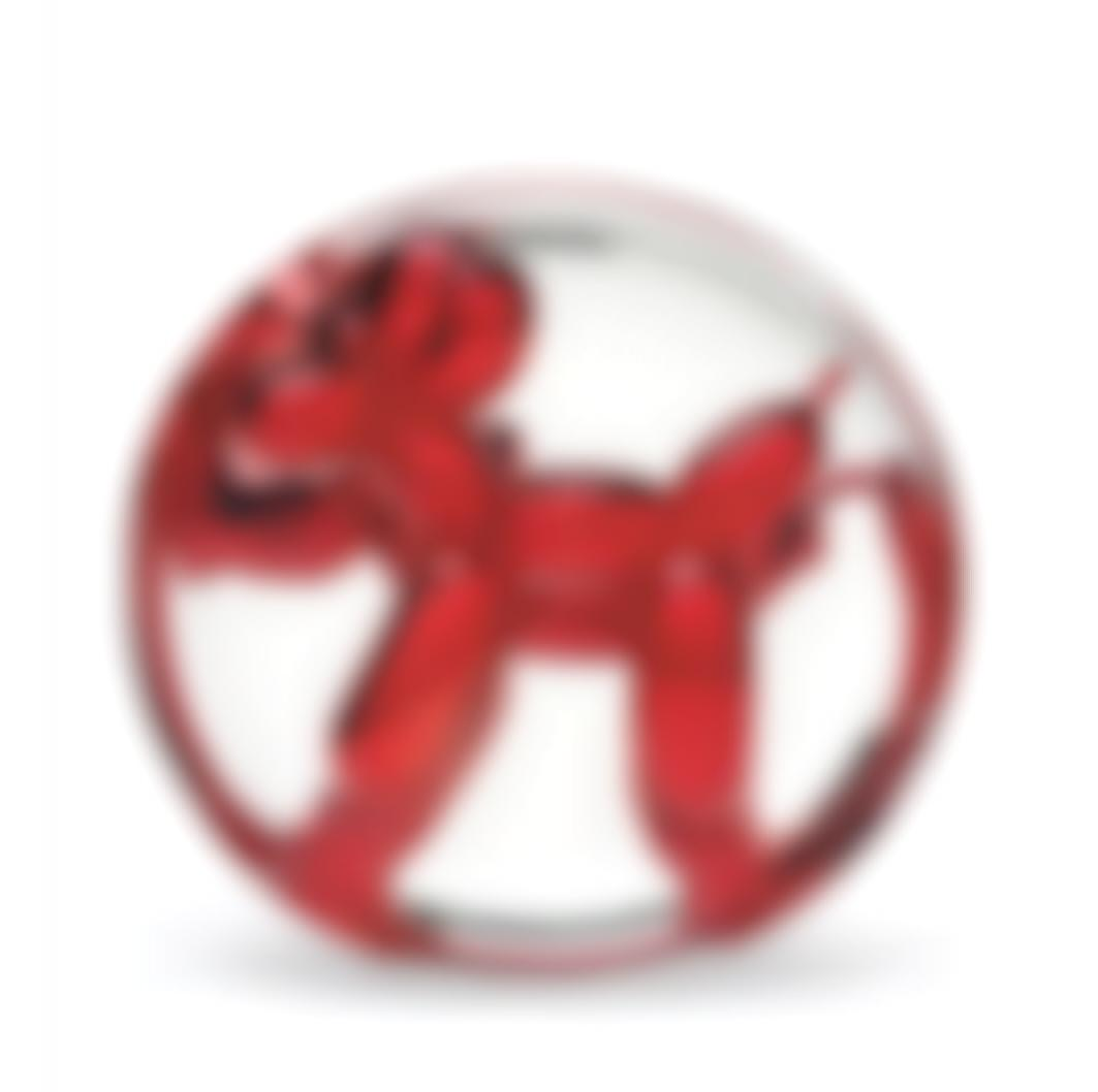 Jeff Koons-Balloon Dog (Red)-1995
