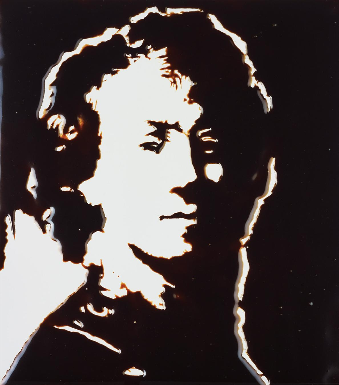 Vik Muniz-Selfportrait, After Rembrandt, From Pictures Of Chocolate-2002